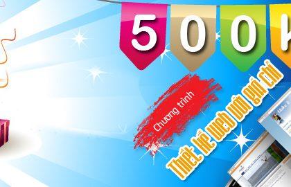 Có nên làm thiết kế web 500k như quảng cáo không?
