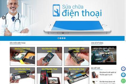 Thiết kế website bán điện thoại di động chuẩn SEO google tại Thủ Đức