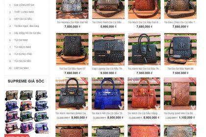 Thiết kế website bán giỏ xách, túi xách chuyên nghiệp tại Thủ Đức