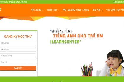 Thiết kế website trung tâm dạy tiếng anh, luyện thi toiec chuyên nghiệp tại Thủ Đức