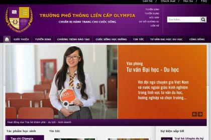 Thiết kế website tuyển sinh, du học chuyên nghiệp giá rẻ tại thủ đức