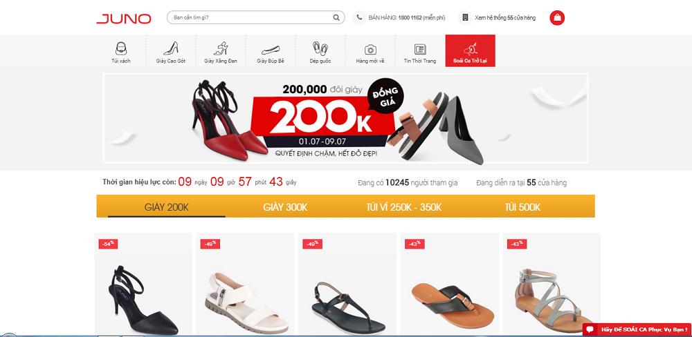 Thiết kế website bán giày chất lượng cao tại Thủ Đức