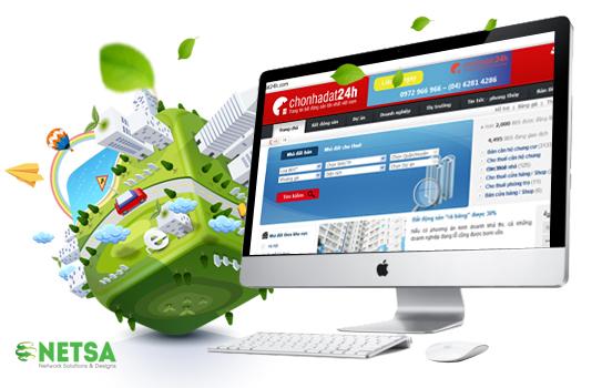 Thiết kế website bất động sản, nhà đất chuyên nghiệp giá rẻ tại Thủ Đức