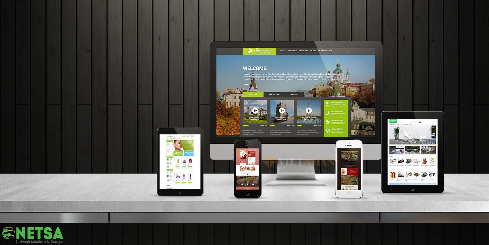 Thiết kế website giới thiệu dịch vụ chuyện nghiệp theo yêu cầu khách hàng tại Thủ Đức