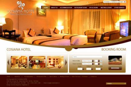 Thiết kế website nhà hàng khách sạn chuyên nghiệp đa ngôn ngữ