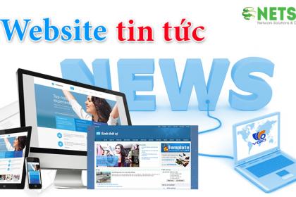Thiết kế website tin tức, báo chí giá rẻ