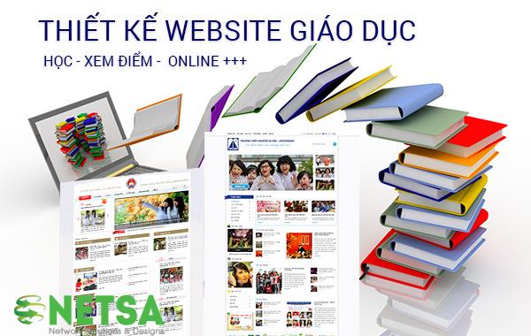 Thiết kế website trường học chuyên nghiệp
