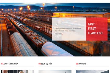 Thiết kế website vận chuyển chuyên nghiệp tại Thủ Đức