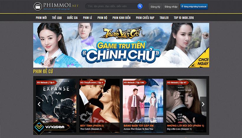 Thiết kế website xem phim trực tuyến online cực nhanh tại Thủ Đức